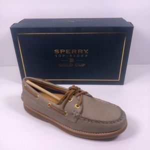 Sperry Topsider Gold Cup Grey Boat shoe